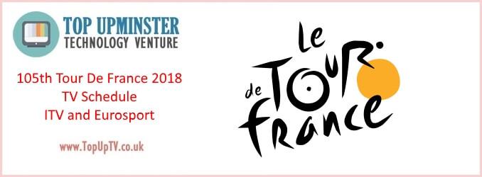 105th Tour De France 2018 topuptv uk