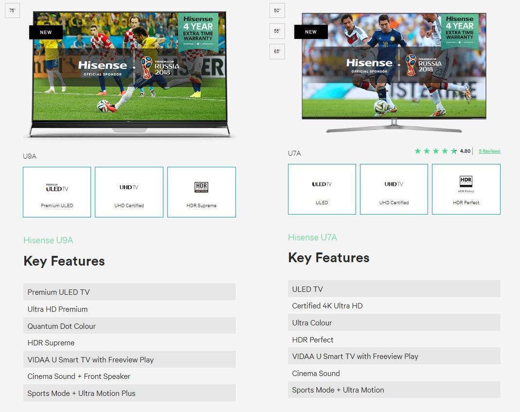 Hisense Offical 4K TV World Cup 2018