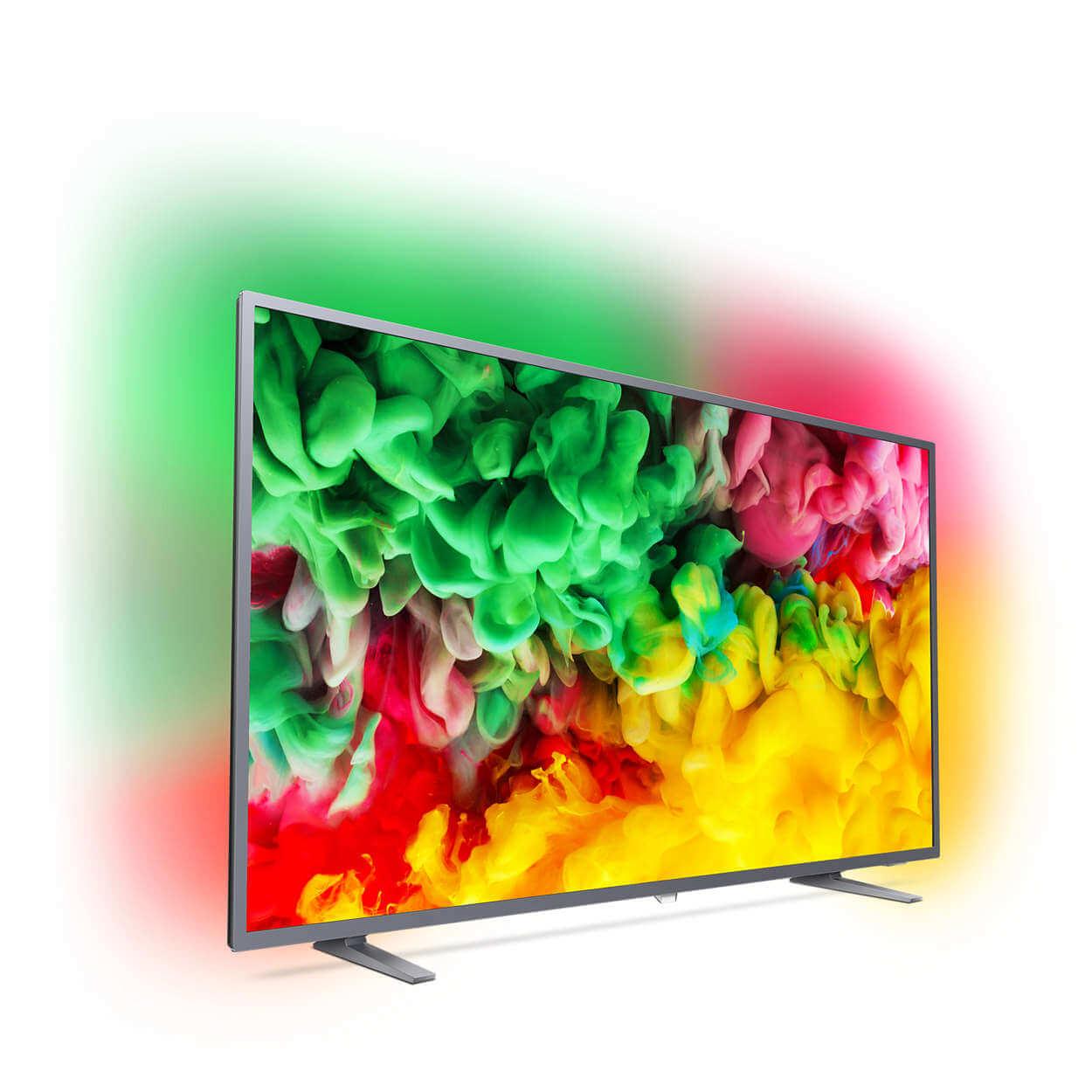 Philips 6703 6753_12 2018 Series Ultra Slim 4K TV HDR Plus HDR10 HLG Ambilight