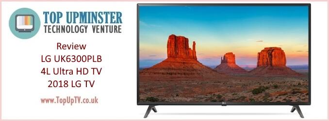 Review LG UK6300PLB 4K Ultra HD TV