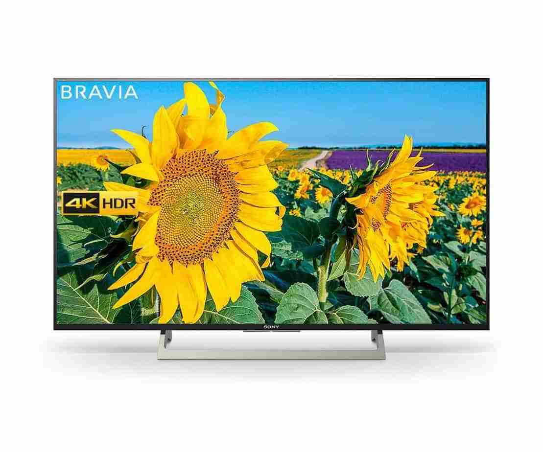 Sony BRAVIA KD43XF8096 43-Inch Android 4K HDR Ultra HD TV Best Affordable 4K Ultra HD Smart LED 2018 TV Models