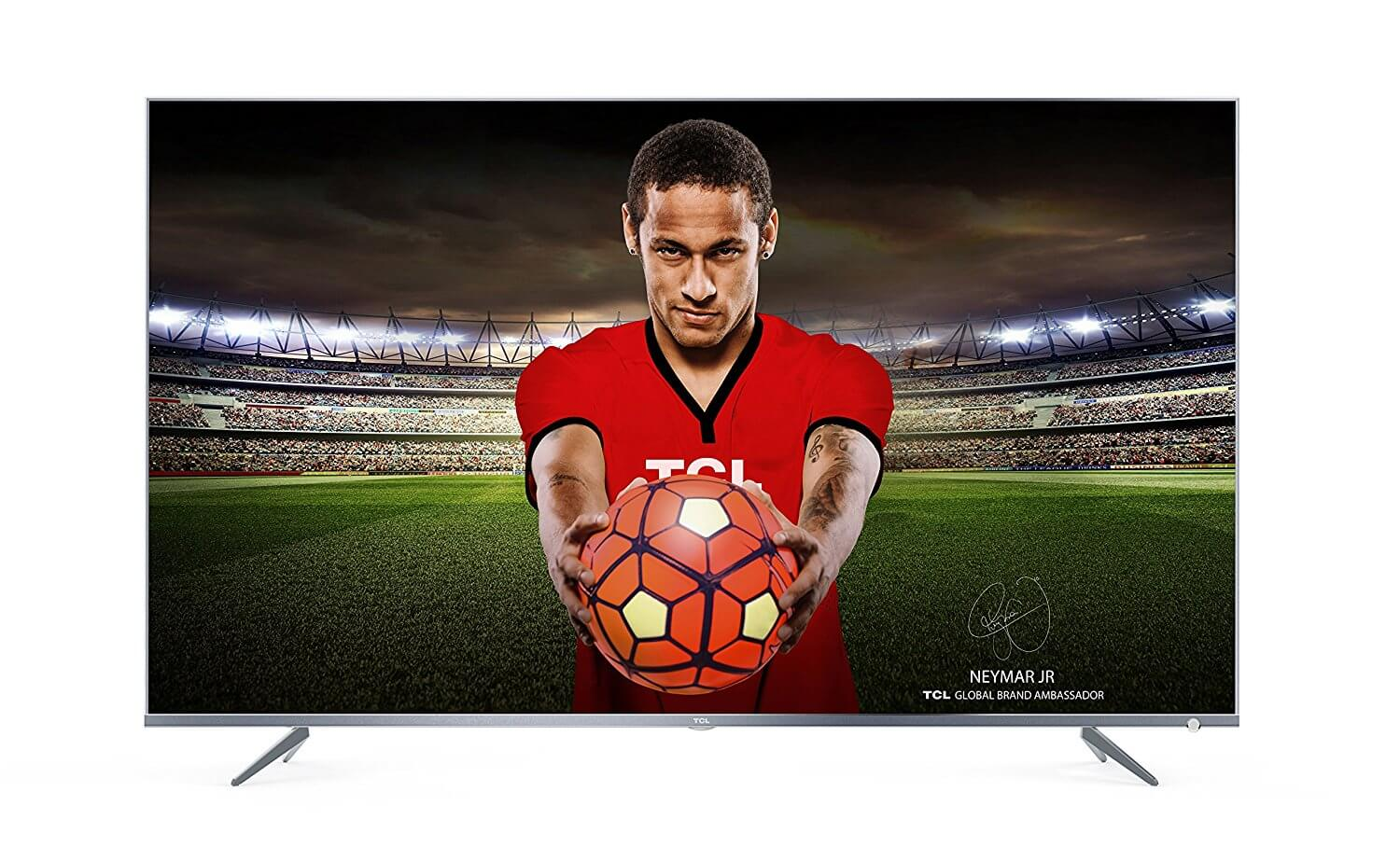 TCL 43DP648 43-Inch 4k Ultra HD TV with Freeview Play 2018 Model Best 4K Ultra HD Smart LED TV Under £400