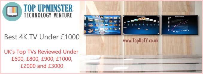 best 4k tv under 1000