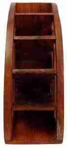 remote control holder | Rustic Wood Remote Control Caddy